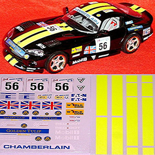 Dodge Viper GTS Coupe Le Mans 1998 #56 118 Decal