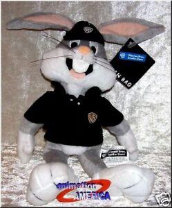 Bugs-Bunny-Employee-bean-bag-plush-retired