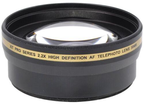 Hi Def 2.2x Telephoto Lens For Canon Vixia HF R800 R82 R80