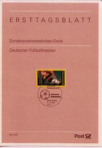 BRD ETB 41-95 MiNr 1833 Deutscher Fußballmeister 1995: Borussia Dortmund BVB 09 - Bad Pyrmont, Deutschland - BRD ETB 41-95 MiNr 1833 Deutscher Fußballmeister 1995: Borussia Dortmund BVB 09 - Bad Pyrmont, Deutschland