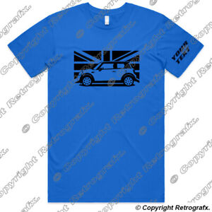 Personalised-Car-T-shirt-Tee-For-BMW-Mini-Cooper-R56-Automotive-Fans