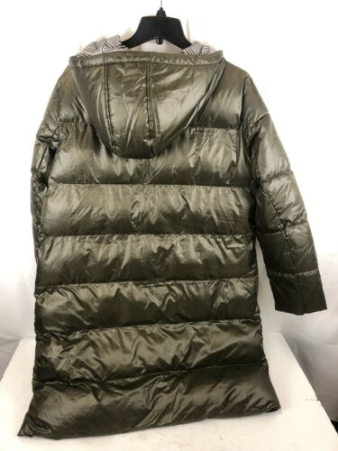L Green French Connection Hooded Puffer Coat F20226
