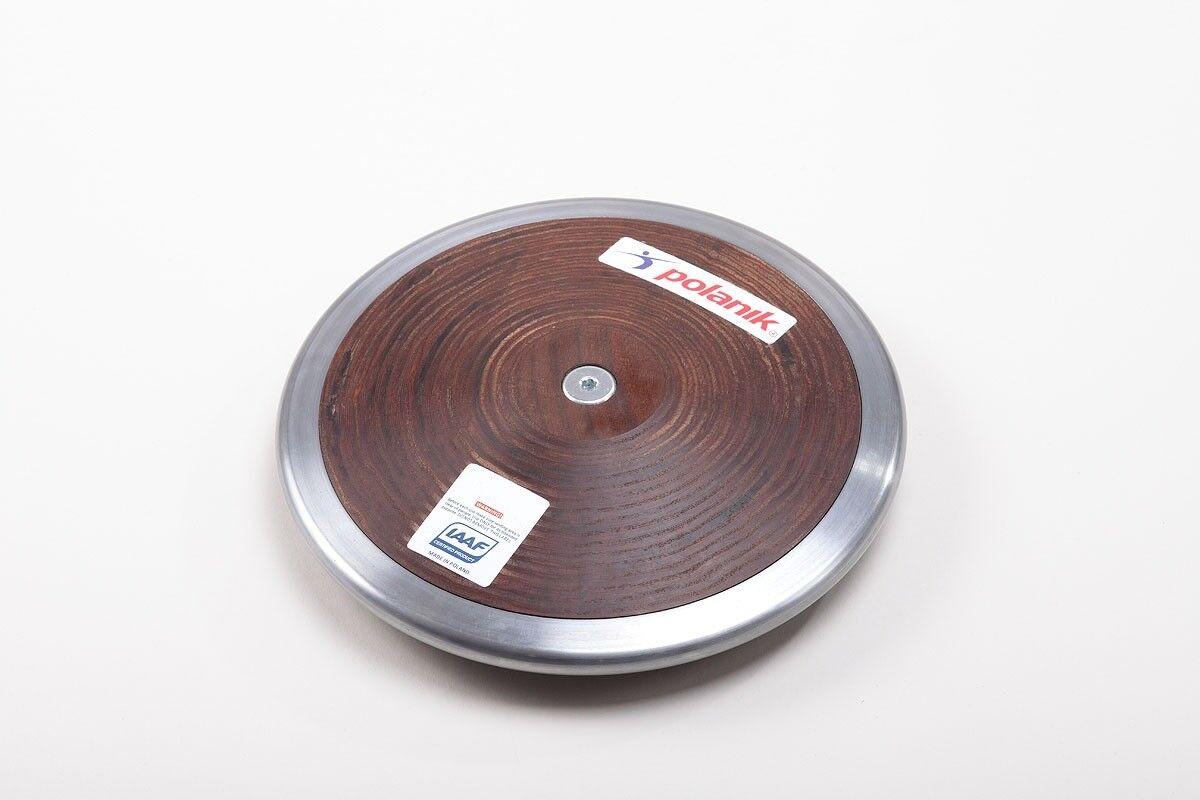 Polanik Hardwood Discus 75% Rim Weight Weight  0.6 KG