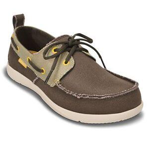 f54b59c6f9a Image is loading New-Mens-Crocs-Walu-Boat-Shoes-limited-sizes