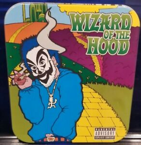 Violent-J-Wizard-of-the-Hood-CD-Tin-insane-clown-posse-twiztid-rare-icp-abk