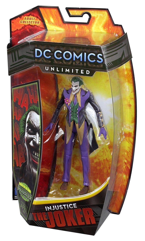 DC Comics Ilimitado Joker Coleccionista figura de acción 6