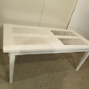 Table rectangulaire persienne , regency