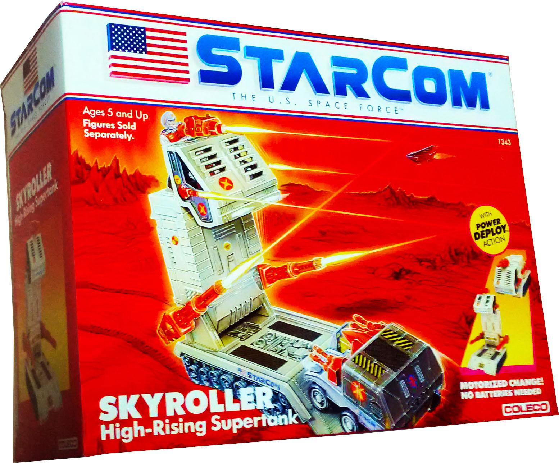 StarCom StarCom StarCom Skyroller High-Rising Supertank Vintage 1987 Collectible MISB New AFA IT ec8a0a