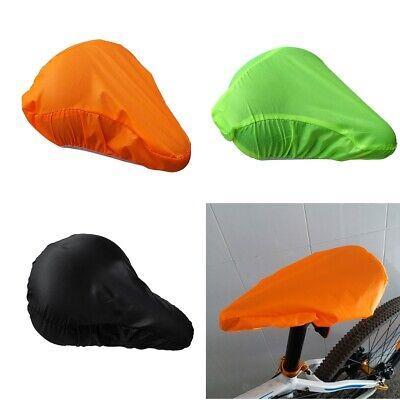 2pcs Waterproof Seat Cover Bicycle Unique Saddle Plastic Rain Cover Reusable