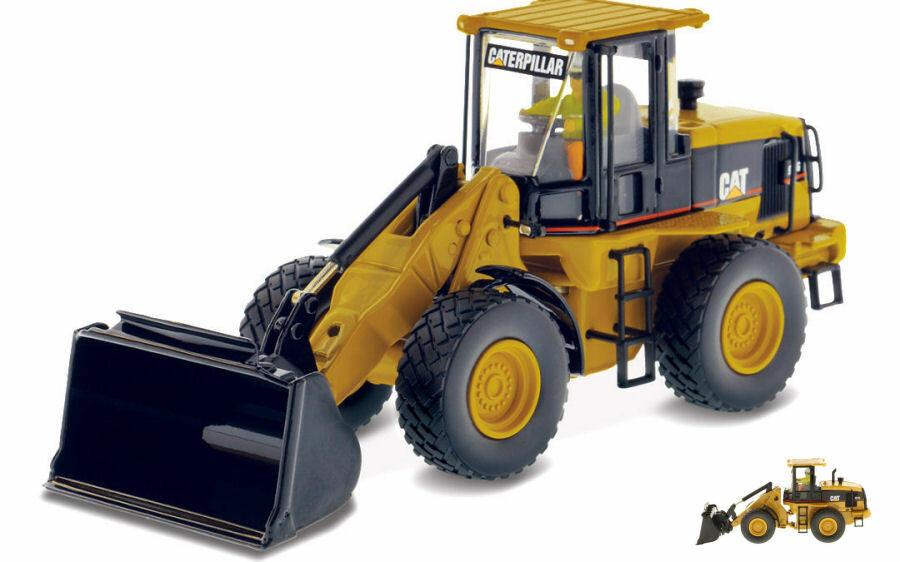 Cat 924g versalink wheel loader 1 50 mezzi industriali scala diecast master