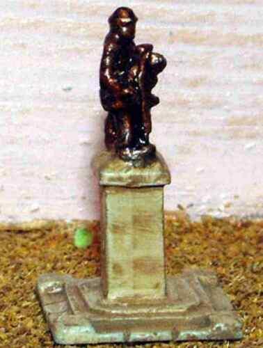 War Memorial Statue A50 UNPAINTED N Gauge Scale Langley Models Kit 1//148 Metal