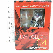 Revoltech Miniature Evangelion Evangelion Unit 04 Figure Japan Anime