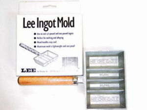Lee Lead Ingot Mold Bullet Casting Mold Lee 90029 Ebay