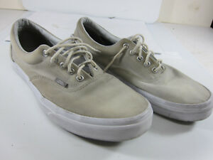 9ef5522749 Vans Off the Wall ( 721356 ) Men s Size 12 Grey Canvas Skateboard ...