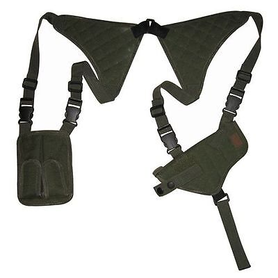 Black RIght Hand Vertical Shoulder Holster Hunting BB Air Soft Pistol Gun 201B