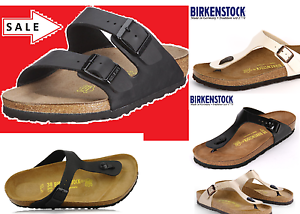 BIRKENSTOCK-real-LEATHER-or-Birkoflor-Upper-Gizeh-or-Arizona-Black-4ywxswcderf