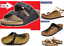 BIRKENSTOCK-real-LEATHER-or-Birkoflor-Upper-Gizeh-or-Arizona-Black-4ywxswcderf thumbnail 1