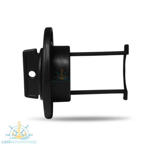 2 X BLACK LARGE BOAT MARINE GRADE UV-RESISTANT HI-FLOW BOAT BUNG BUNGS /& BASE