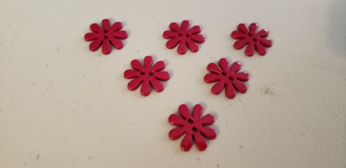 """6 13//16/"""" FLOWER FRENZY WINE #50 new Novelty Buttons"""