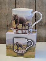 The Leonardo Collection - Kaffee Becher / Tasse - Elefant Elefanten wilde Tiere