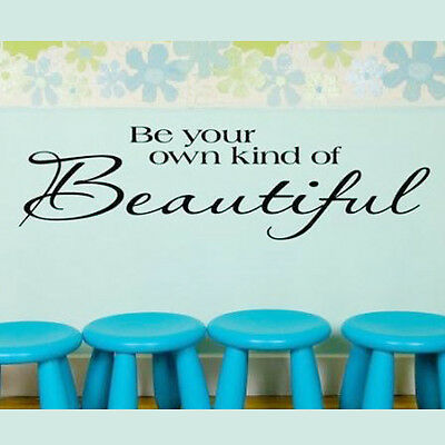 """14cm*51cm """"Be your own of"""" Removable Vinyl Quote Wall Sticker Decal Mural #XQA62"""