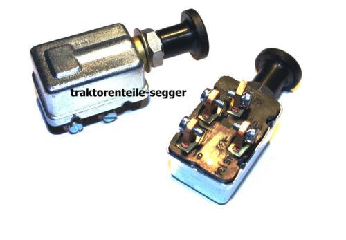 1 Glüh Start Zugschalter Starterschalter Schlepper Traktor Trecker