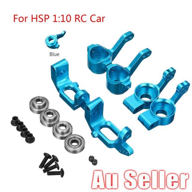 Front/Rear Hub Carrier Steering Upgrade Parts For HSP HPI RC 1/10 Model Car AU