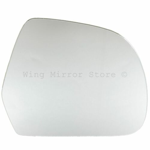 Right Driver Side WING DOOR MIRROR GLASS For Nissan Micra K13 2011-16 Stick On
