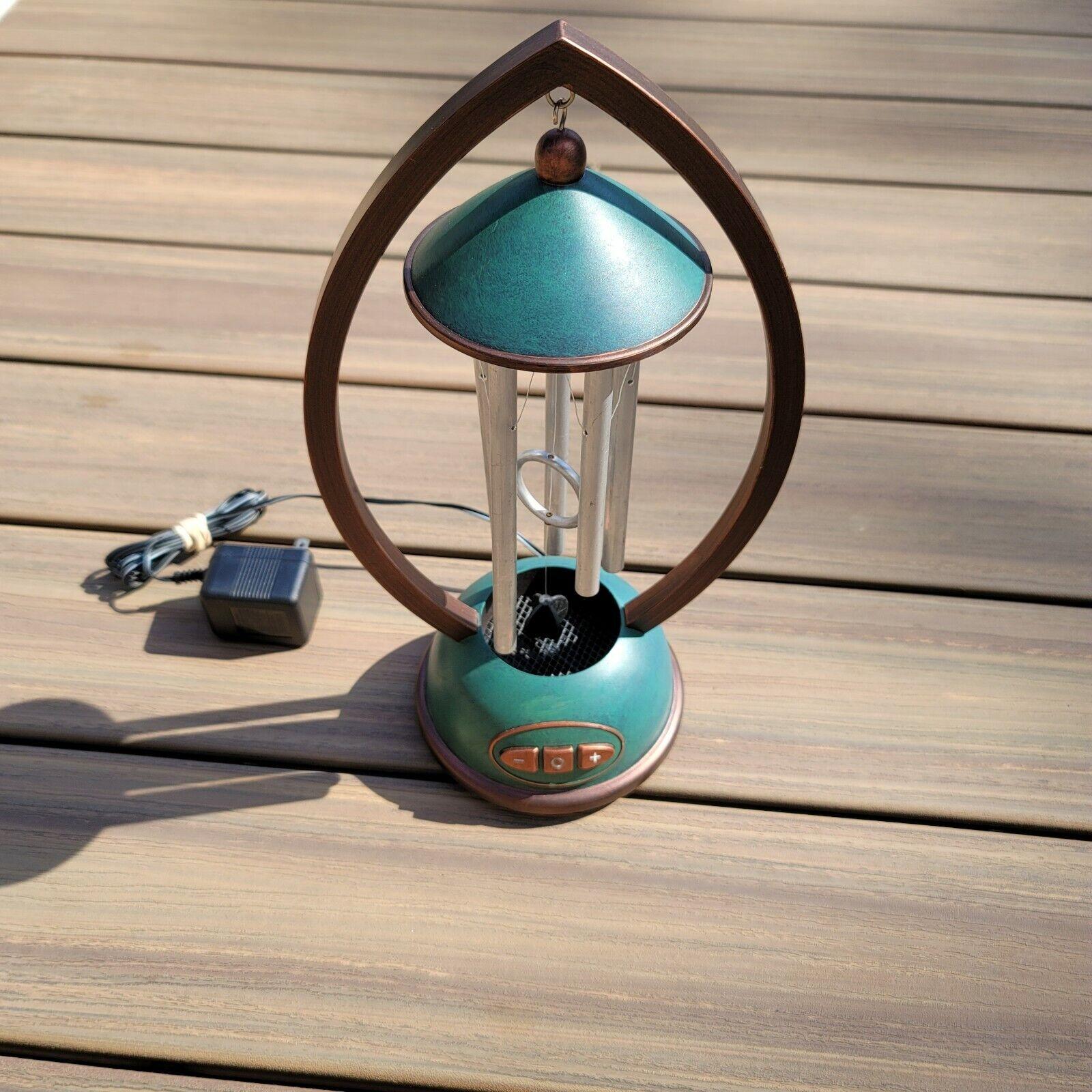 Homedics Envirascape Indoor Desk Tabletop Auto Wind Chime Model WC100 VTG WORKS