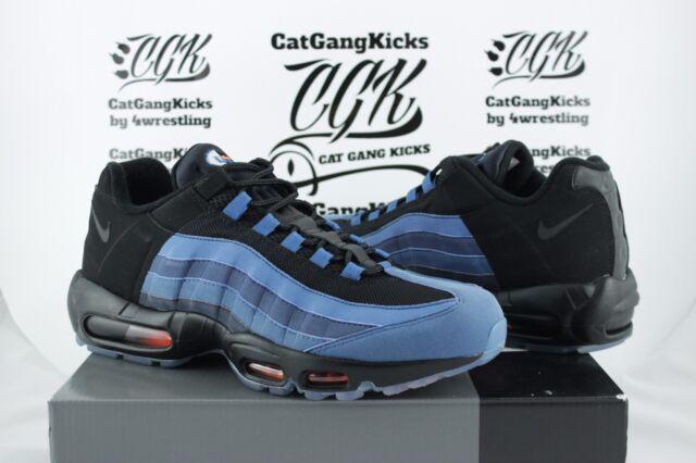 1ed6ffc22353 Nike Air Max 95 LJ Lebron QS 822829-444 Game Time Blue black 11 for ...