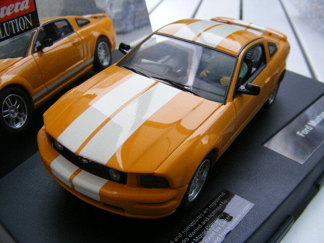 Carrera Evolution 27175 Ford Mustang GT Yellow Light NIP