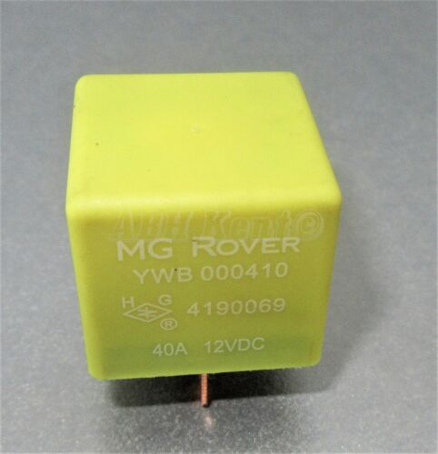 63-Rover 200 45 25 75 MG ZR ZS ZT 4-Pin Multi-Use Yellow Relay YWB000410 4190069