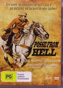 POSSE FROM HELL - AUDIE MURPHY - NEW & SEALED DVD