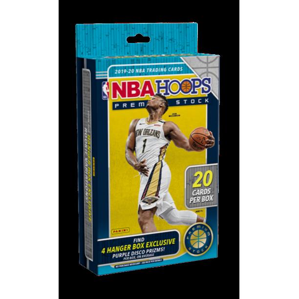 2019-2020 Panini NBA Hoops PREMIUM STOCK HANGER BOX 20 Cards Zion? Ja? RC