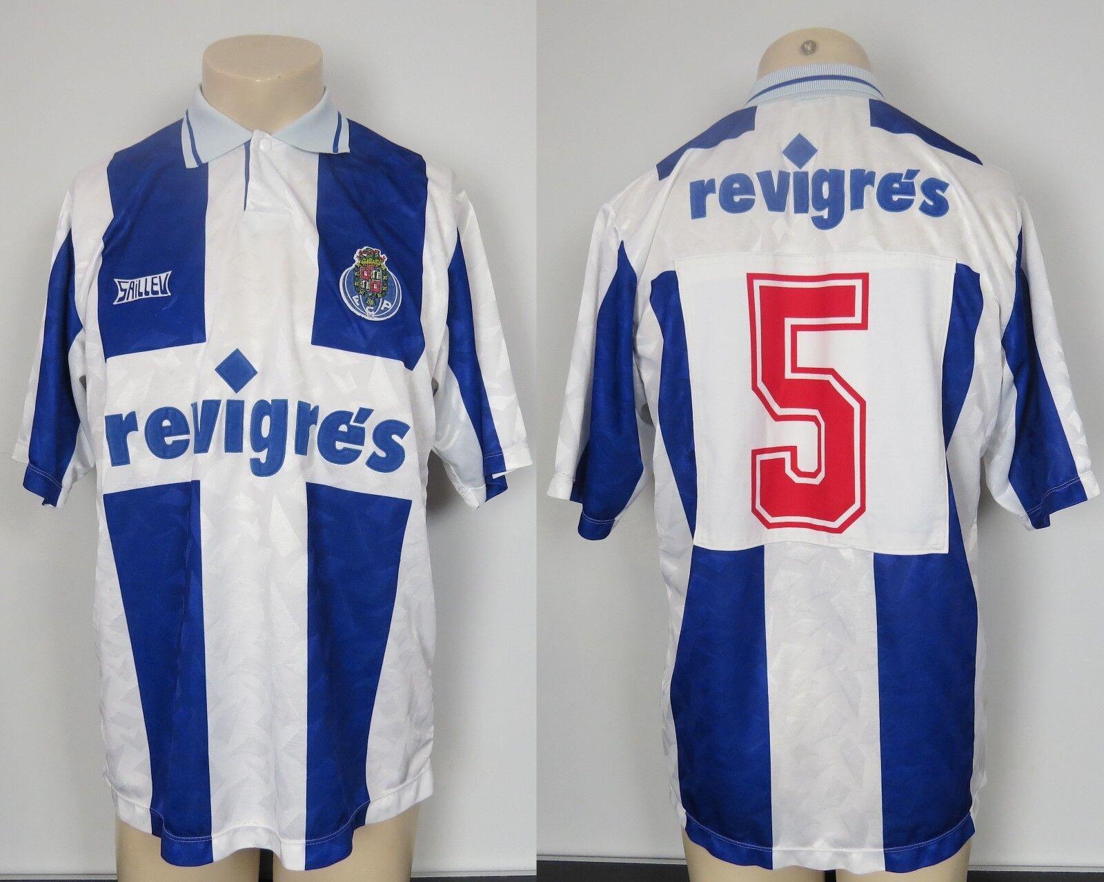 FC Porto 199293 Home Camicia saillev SOCCER JERSEY  5 Taglia M