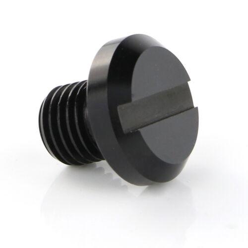 Mirror Blanking Plug For Aprilia Tuono V4 1100 15-18 Caponord 1200 13-2018 Black