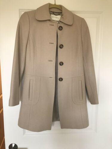Banana Republic Wool TopCoat - Taupe Color