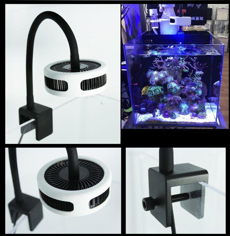Mini nano coral SPS LPS reef algae grow supplement LED light aquarium marine