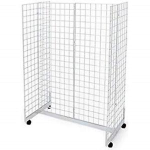 New White Gridwall Gondola Merchandiser 2 X 6 Ebay