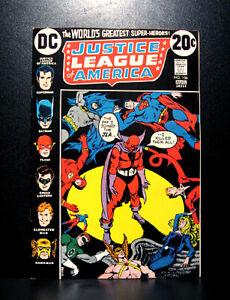 COMICS-DC-Justice-League-of-America-106-1973-Red-Tornado-joins-JLA-RARE