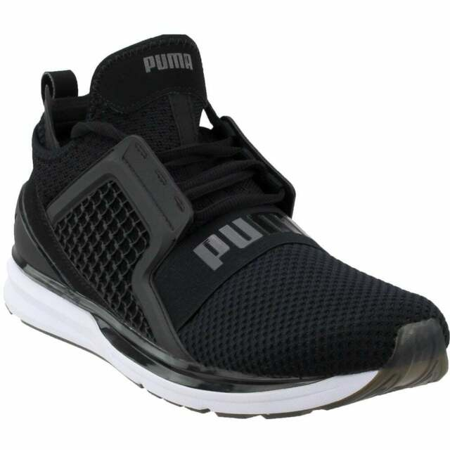 Puma Ignite Limitless Weave  Casual   Sneakers Black - Mens - Size 13 D