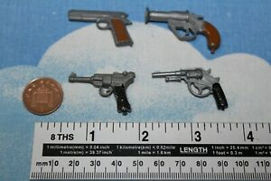 Details about ORIGINAL VINTAGE GEYPERMAN/ ACTION MAN LUGER, PISTOL & FLARE  GUN CB34002