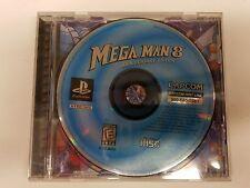 MEGA MAN 8 VIII ANNIVERSARY EDITION sony playstation 1 NO MANUAL video game PS1