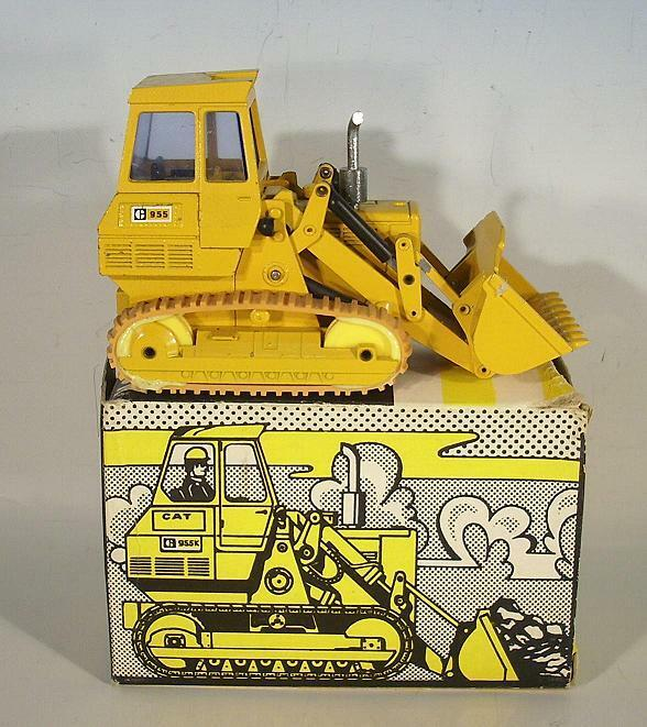 NZG 1/50 no. 116 Caterpillar CAT 955k in O-Box 70er JH  390
