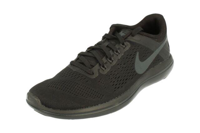 391a28e1db706 Nike Flex 2016 RN 830751-010 Black anthracite Womens Running Shoes 8 ...