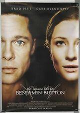 DS010 - Gerollt/KINOPLAKAT - DER SELTSAME FALL DES BENJAMIN BUTTON Brad Pitt