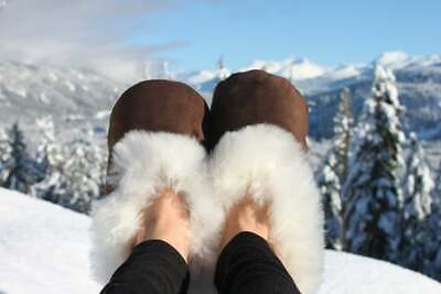 slippers warm and soft BROWN Slippers Alpaca Fur ALL SIZES slippers peruvian