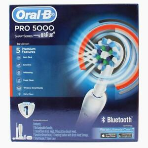 ORAL-B-RECHARGEABLE-TOOTHBRUSH-PRO-5000-SMART-SERIES-100-Brand-New