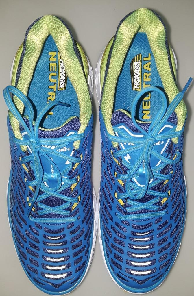 HOKA ONE ONE VANQUISH 3 IN blueEPRINT MEN'S RUNNING SHOES SIZE 11.5 PRE OWNED