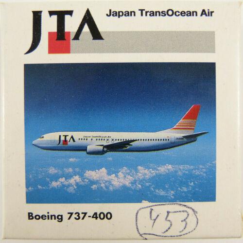 m1 Boeing 737-400 JTA japón transocean air ja8523 Herpa 501286 1:500 en OVP